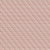 Makower UK - Super Bloom - 7127 - Red Pink Raindrops on Cream Background - 9463E - Cotton Fabric